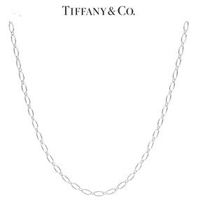 """Tiffany & Co. Oval Link 30"""" Sterling Silver Chain"""
